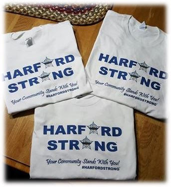 Harford Strong t-shirts